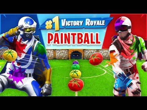 Tomato Paintball NEW Custom Gamemode In Fortnite