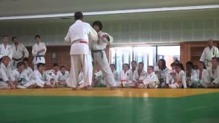 Stage Judo à REIMS avec H KATANISHI