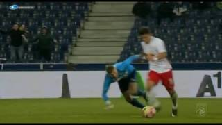 황희찬 골 (Salzburg vs Altach 2016/12/03)