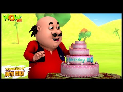 Motu ka Birthday | Motu Patlu in Hindi WITH ENGLISH, SPANISH & FRENCH SUBTITLES | As seen on Nick