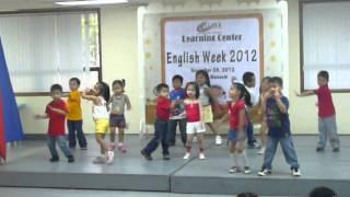 Lauryn dancing Hi 5 Senses