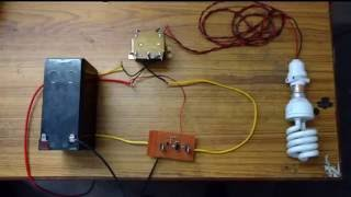 Simple 12 v DC to 220 V AC Inverter