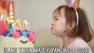 ACARA ULANG TAHUN MADDY YANG KE-4 (2019)   BANJIR MAKANAN PADA BUNGKUS BAWA PULANG