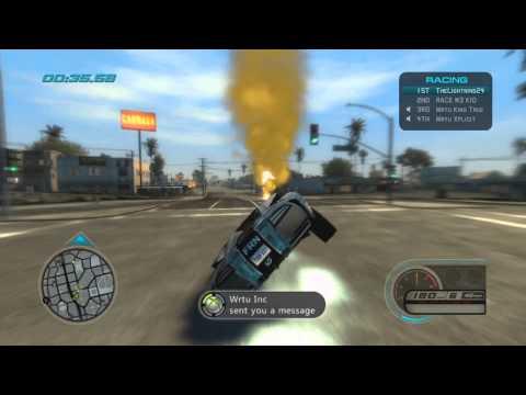Midnight Club LA | 2v2 - Fast Racing Nation vs Wrtu | Vicetone - White Lies