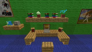 Let's Show Minecraft ab 1.7.2 Piston House Bier Map Part 5 (Wohnung)