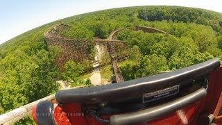 Beast On-ride Front Seat (HD POV) Kings Island