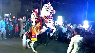 Horse Dance at Indian Wedding Ceremony
