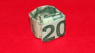 Origami Dollar Ring Tutorial - How To Make An Origami Dollar Ring