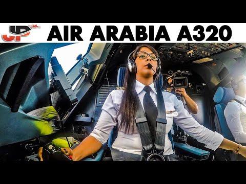 Sabrina makes perfect Airbus landing