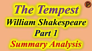 10E1001 IN HINDI The Tempest Part 1