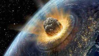La caduta di un asteroide sulla terra