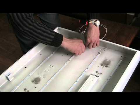 4. Монтаж светодиодов в корпус светильника - Vimeou
