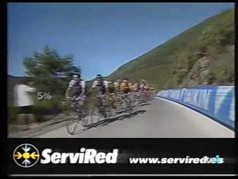 EL CHAVA CORRE SIEMPRE - vuelta españa 2001 jose maria jimenez gana 8ª etapa.avi