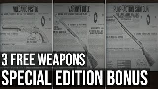 Three Free Weapons (Special Edition Bonus) - Red Dead Redemption 2 Special Edition
