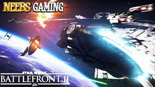 Star Wars Battlefront 2 - Tie Fighter vs Millennium Falcon