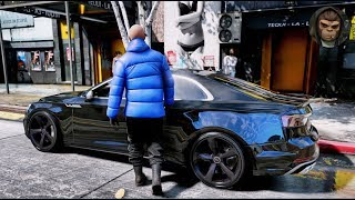► GTA 6 Graphics - Audi S5 2018 ✪ M.V.G.A. - Gameplay! - Realistic Graphics MOD PC 60FPS