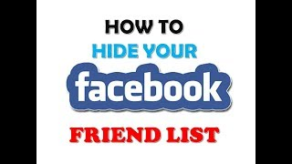 How+to+hide+your+facebook+Frind+List