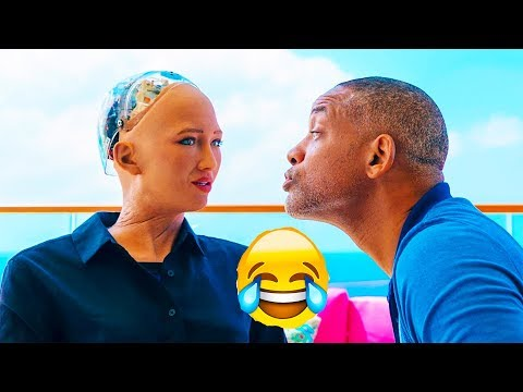 Xxx Mp4 Will Smith Tried To Kiss Sophia AI Robot See What Happened Next 3gp Sex