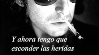 Me estas atrapando otra vez (Lyrics) - Andres Calamaro