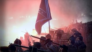 Confederate Entrenched Line Defence - Union Surprise Attack | American Civil War Total War
