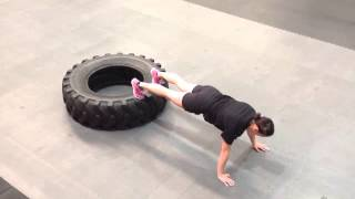 Tyre Tricks - WOW - Workout of The Week- 20th April 2014