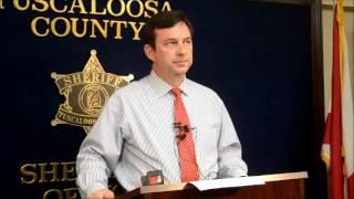 Lake Tuscaloosa deaths press conference
