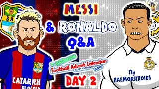 Messi & Ronaldo Q&A! (El Clasico 1-1 2016-DAY 2 Advent Calendar!)