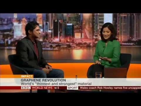 Graphene Revolution Interview on BBC World News
