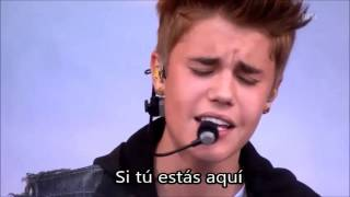 Justin Bieber - Never Let You Go (Traducida al español) Live