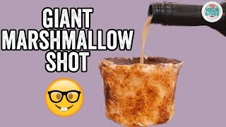 DIY GIANT MARSHMALLOW SHOT GLASS