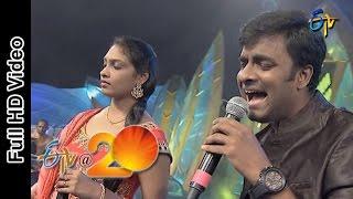 Hemachandra and Anjana Sowmya Performs - Chudaddantunna Chustunneunta Song in Eluru ETV @ 20 Celebra