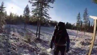 Hiking on Skrimfjella - Norway W2015