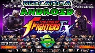 Descarga este fabuloso juego The King of Fighters Wing Ex similar a Mugen en Android 2017