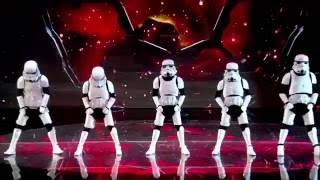 Let the force be with Boogie Storm  Britain's Got Talent 2016 Semi Final 3