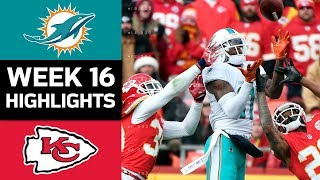 Dolphins vs. Chiefs | NFL Week 16 Game Highlights