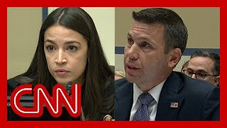 AOC confronts Trump's DHS chief