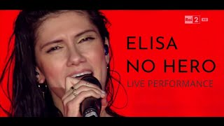 Elisa - No Hero (Live)