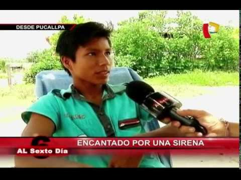 Encantado por una sirena La desgarradora historia de un joven en Pucallpa