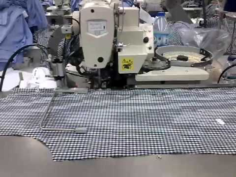 Maica Full Automatic Production Line for Shirt - Portugal