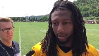 Steelers OLB Bud Dupree after Day 1 of OTAs 5/23/17