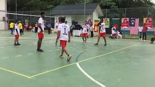 Clubs Throwball games in Malaysia 🇲🇾  Anjli chauhan India
