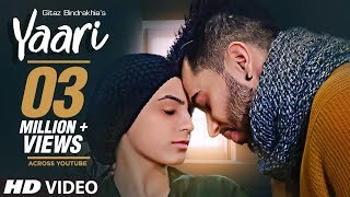 Yaari Gitaz Bindrakhia Punjabi Song | Intense, Navi Ferozpurwala | Latest Punjabi Songs 2019