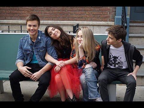 Girl Meets World 4 Core (Rowan Blanchard, Corey Fogelmanis, Sabrina Carpenter, and Peyton Meyer)