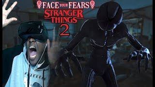 THE STRANGEST VR EXPERIENCE EVER | Face Your Fears: Stranger Things 2 VR