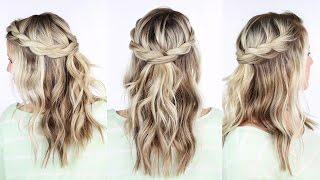 Twisted Crown Braid