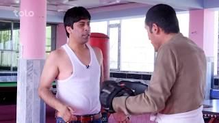 مبارزۀ ولی حجازی و سیر بهادر زاده  - شبکه خنده - قسمت دهم / Shabake Khanda - S4 - Episode 10