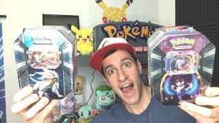 THE REDEEMING PULL! - Opening BOTH Pokemon SUN AND MOON TINS! - SOLGALEO AND LUNALA TINS!
