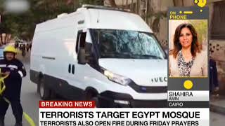 Breaking News: Bomb attack in a mosque in Egypt's Sinai province
