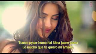 Dheere Dheere Se Meri Zindagi - Hrithik Roshan Sonam Kapoor  (Español-Hindi)