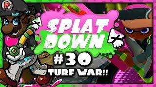 Splatoon - 2 Turf War Matches on Urchin Underpass/Walleye Warehouse! (Splatdown #30)